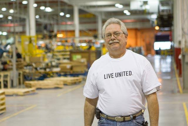 GE Live United Workplace campaign photo